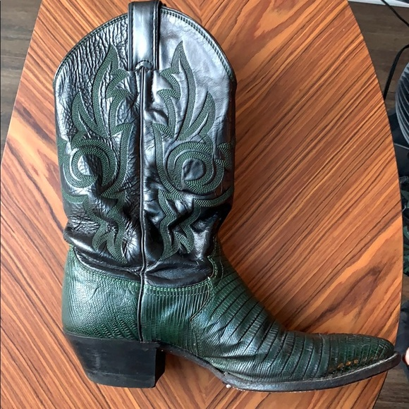 Justin Boots Shoes   Justin Black And